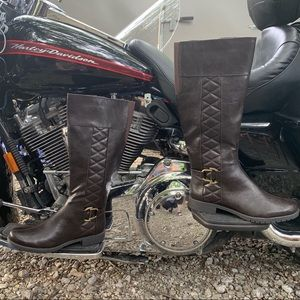 Life Stride w/Soft System Tall Moto Boot, NWOT
